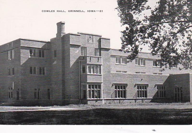 Iowa Grinnell Cowles Hall