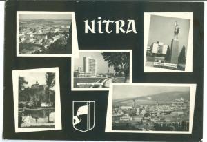 Slovakia, NITRA, used real photo Postcard