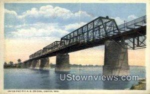 Union Pacific RR Bridge in Omaha, Nebraska