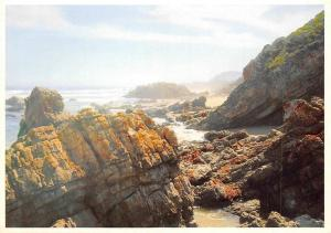 South Africa, Cape Province, Plettenberg Bay, rock formation, Keurboomstrand