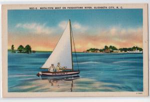 Moth-Type Boat, Pasquotank River, Elizabeth City NC