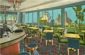 MI, Soo Locks, Michigan, Hotel Ojibway, Curteich No. 5C-H253