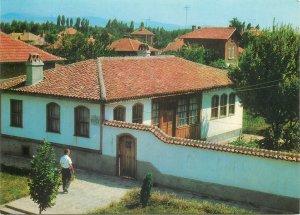Postcard Bulgaria Nova Zagora house museum Petko Enev