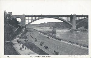 Speedway, New York, N.Y., Early Postcard, unused