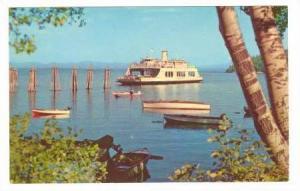 M.V. Adirondack, Port kent, New York, 40-60s