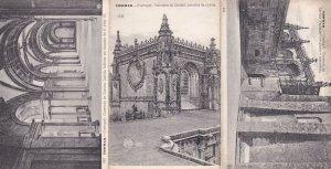 Thomar Convento de Christo Lado Portugal 3x Postcard s