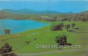 Golf Postcard Cooperstown, NY, USA Otesaga Hotel Championship Golf Course