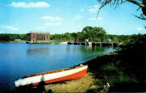 Michigan Big Rapids Rogers Dam On The Muskegon River