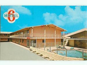 Motel Six of El Monte Peck Rd Valley El Monte California  Postcard # 7130