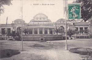 VICHY, Allier, France, PU-1914; Facade Du Casino