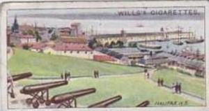 Wills Vintage Cigarette Card 1914 Overseas Dominions Canada No 47 Halifax Nov...