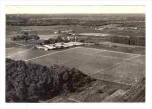 RP  SAUTERNES (Gironde) , France, 40-60s   Chateau d´Yquem , Vue aerienne #2