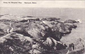 Maine Ogunquit Along The Marginal Way Albertype