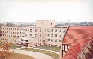 Watertown Wisconsin~Bethesda Lutheran Home for Mentally Retarded~1960s Postcard