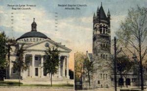 Ponce De Leon Ave. Baptist Church Atlanta GA 1921