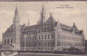 Netherlands Den Haag Vredespaleis Achterzijde