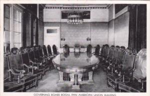 Washington D C Pan American Union Aztec Governing Board Room