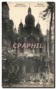 Old Postcard Mont Cindre Hermitage Basilica of the Cure d & # 39Ars