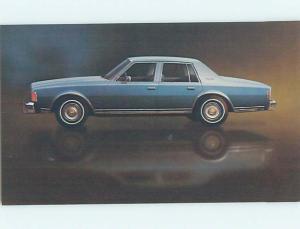Unused 1977 car dealer ad postcard CHEVROLET CAPRICE CLASSIC SEDAN o8141@
