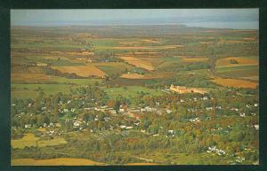 DUNDEE NEW YORK NY Seneca Lake Keuka Lomoka Waneta Aerial View Scene Postcard