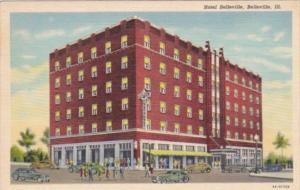 Illinois Belleville Hotel Belleville Curteich
