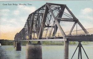 Tennessee Memphis Great Eads Bridge