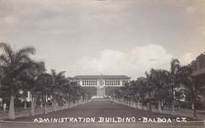 RP: Administration Building , BALBOA , Canal Zone , 1910s