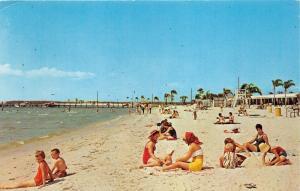 Ruskin Florida~Bahia Beach Scene @ Bahia Vista Restaurant & Motel~Ladies & Kids