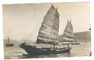 RP: Lightor Ship , Hong Kong , China , 1925