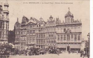 Belgium Brussels La Grande Place Maison des Corporations 1928