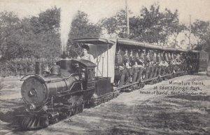 BENTON HARBOR , Michigan , 1900-10s ; House of David Miniature Train