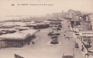 France Dieppe Perspective de la Rue Aguado