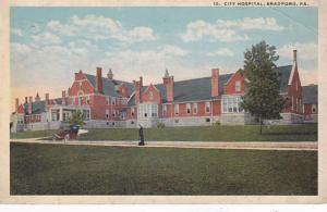 Pennsylvania Bradford City Hospital 1918