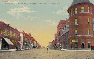 AMERICUS , Georgia, 1900-10's ; Corner Jackson & Lamar Streets