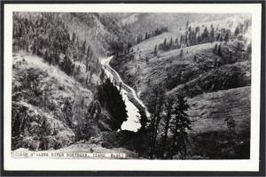 Coeur d'Alene River Idaho Real Photo Postcard RPPC 1940s Cecil Nixon