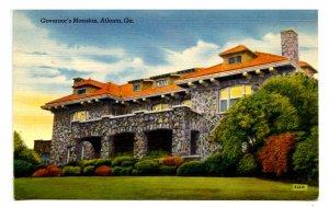 GA - Atlanta. Governor's Mansion