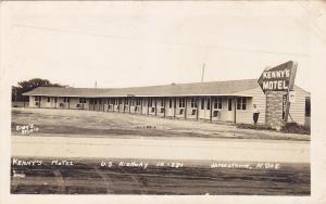 RP; JAMESTOWN , North Dakota , PU-1954 ; Kenny's Motel