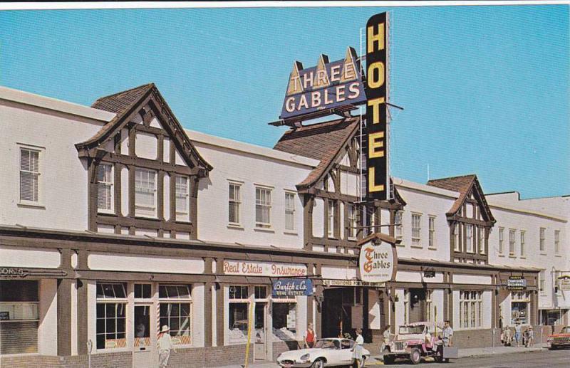 Exterior, Three Gables Hotel,  Penticton,  B.C.,  Canada,  40-60s