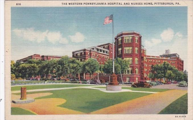 Pennsylvania Pittsburgh The Western Pennsylvania Hospital and Nurses Home  Cu...