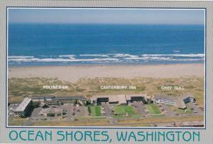 Washington Ocean Shores Polynesian Canterbury Inn & Grey Gull Resorts