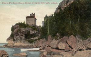 FLOWER POT ISLAND , Ontario , 1914 ; Lighthouse