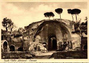 Italy Tivoli Villa Adriana Canopo