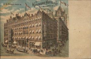 Albany NY Kenmore Hotel Co c1905 Postcard