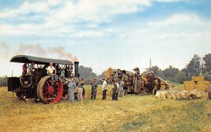 Farming Post Card Threshing Machine Pennsylvania, USA Unused