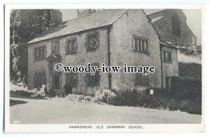 tq0202 - Cumbria - William Wordsworth's School,Hawkshead Old Grammar - postcard