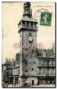 Old Postcard Moulins Jacquemart