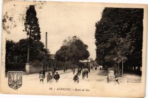 CPA Alencon-Route de Sées (29692)