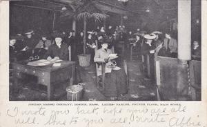 Interior , Jordan Marsh Co. , BOSTON , Massachusetts , 1901-07 ; Ladies' Parlor