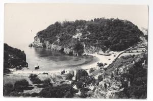 RPPC Greece Corfu Paleokastritza Ionian Isle Michel Cocalis