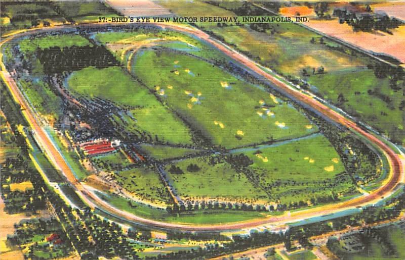 Indianpolis Motor Speedway Automobile Racing, Race Car Unused
